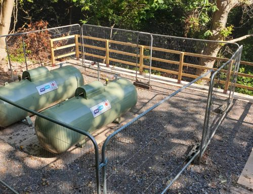 Outdoor Gas Tanks